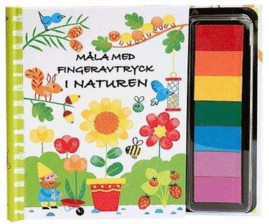 bokomslag Måla med fingeravtryck. I naturen