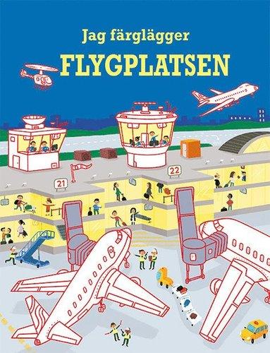 bokomslag Jag färglägger : flygplatsen