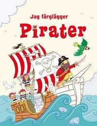 bokomslag Jag färglägger: Pirater
