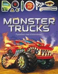 bokomslag Monstertrucks : pysselbok med klistermärken