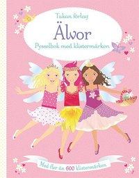 bokomslag Älvor: pysselbok med klistermärken