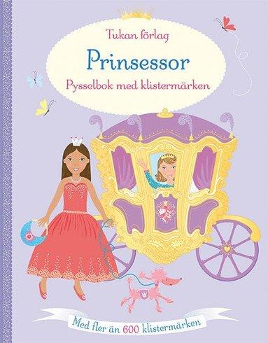 bokomslag Prinsessor : pysselbok med klistermärken