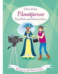 bokomslag Filmstjärnor : pysselbok med klistermärken