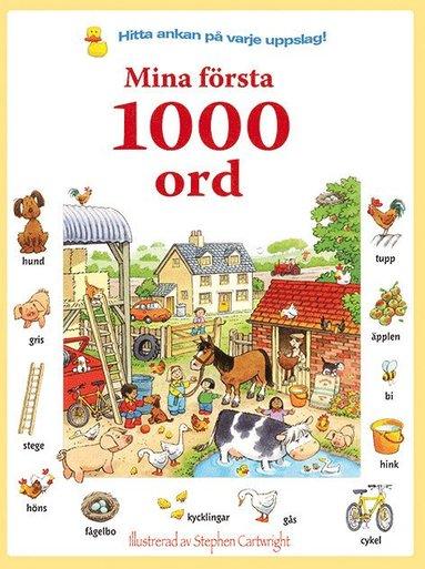 bokomslag Mina första 1000 ord