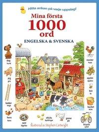 bokomslag Mina första 1000 ord: engelska & svenska