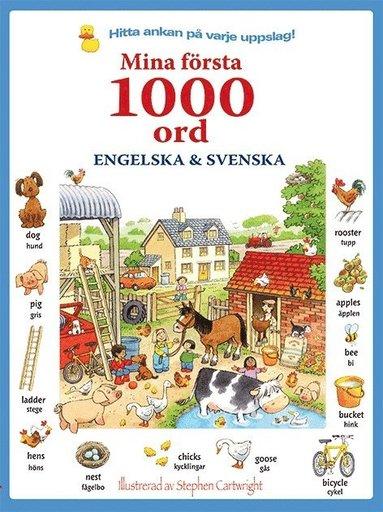 bokomslag Mina första 1000 ord : engelska & svenska