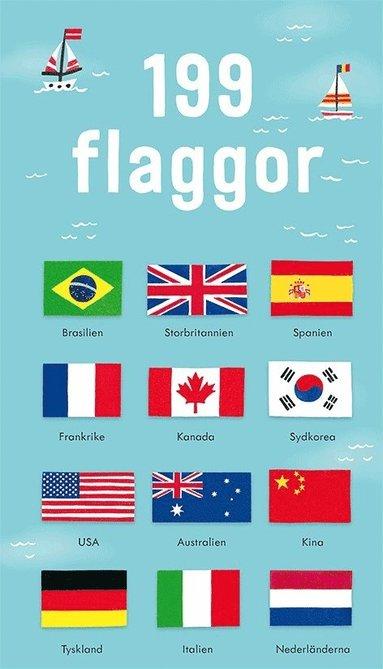 bokomslag 199 flaggor