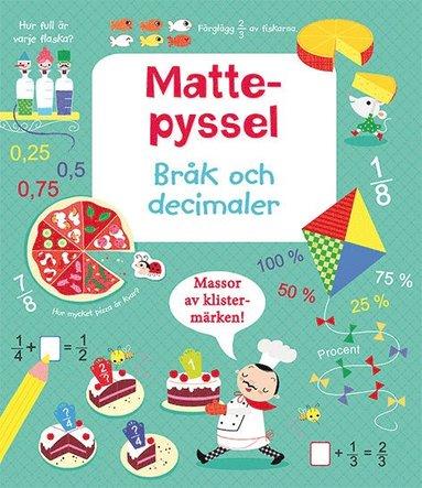 bokomslag Mattepyssel: Bråk och decimaler
