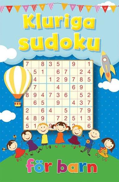 bokomslag Kluriga sudoku för barn