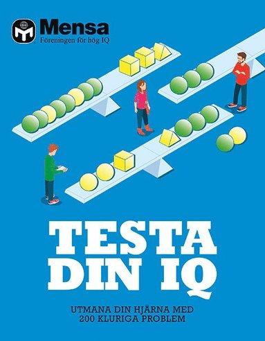 bokomslag Testa din IQ : utmana din hjärna med 200 kluriga problem