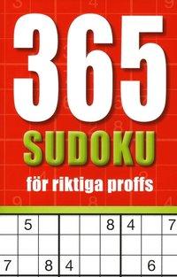 bokomslag 365 sudoku för riktiga proffs