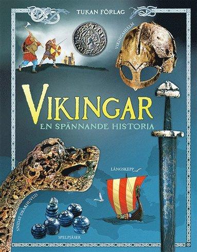 bokomslag Vikingar: en spännande historia