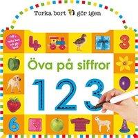 bokomslag Torka bort & gör igen : Öva på siffror