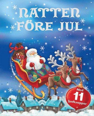 bokomslag Natten före jul: med 11 ljudknappar