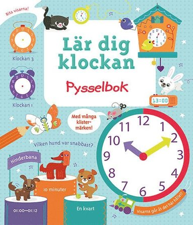 bokomslag Lär dig klockan : en pysselbok om tid