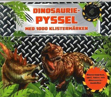bokomslag Dinosauriepyssel : med 1000 klistermärken