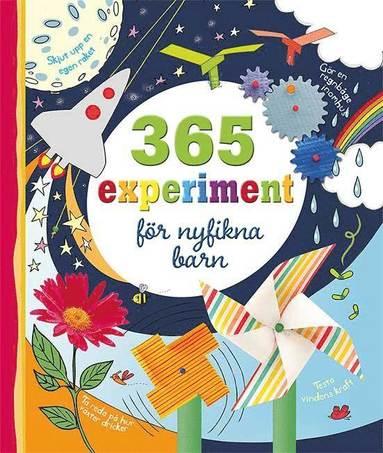 bokomslag 365 experiment för nyfikna barn