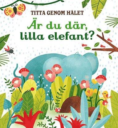 bokomslag Titta genom hålet: Är du där, lilla elefant?