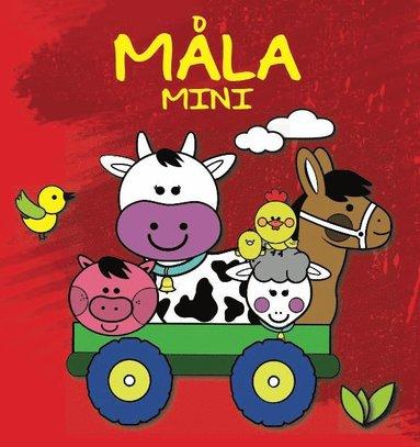 bokomslag Måla mini: bondgården