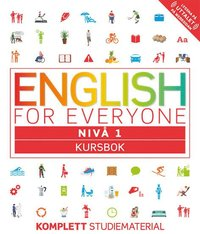 bokomslag English for Everyone Nivå 1 Kursbok