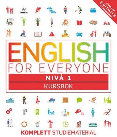 bokomslag English for Everyone Nivå 1 Kursbok