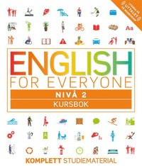 bokomslag English for everyone Nivå 2 Kursbok
