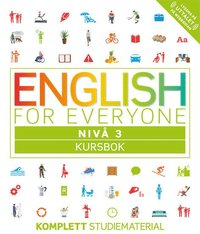 bokomslag English for everyone Nivå 3 Kursbok