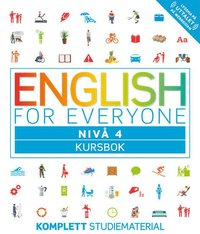 bokomslag English for everyone Nivå 4 Kursbok