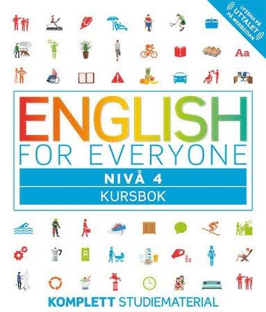 bokomslag English for everyone Nivå 4 Kursbok
