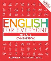 bokomslag English for everyone Nivå 1 Övningsbok