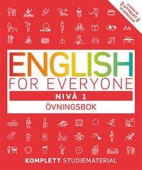 bokomslag English for everyone Nivå 1 Övningsbok