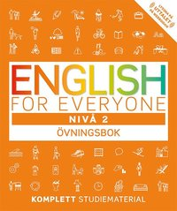 bokomslag English for everyone Nivå 2 Övningsbok