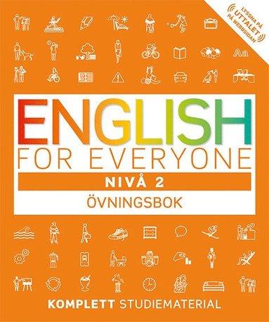 bokomslag English for everyone Nivå 2 Övningsbok