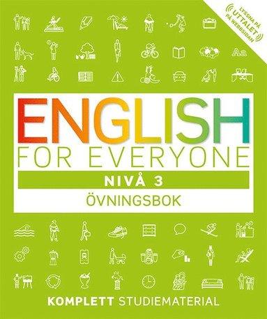 bokomslag English for everyone Nivå 3 Övningsbok