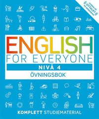 bokomslag English for everyone Nivå 4 Övningsbok