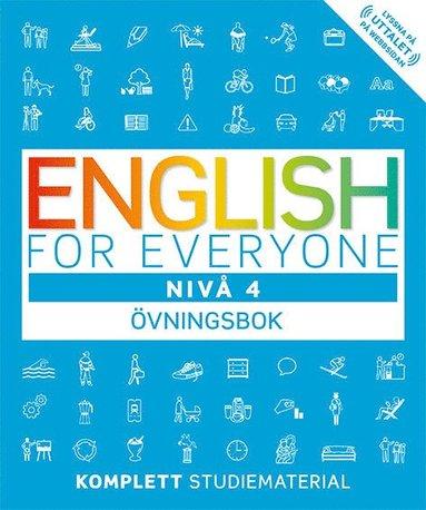 bokomslag English for everyone Nivå 4 Övningsbok