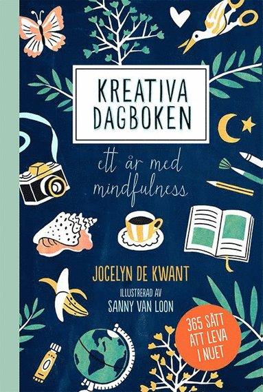 bokomslag Kreativa dagboken: ett år med mindfulness