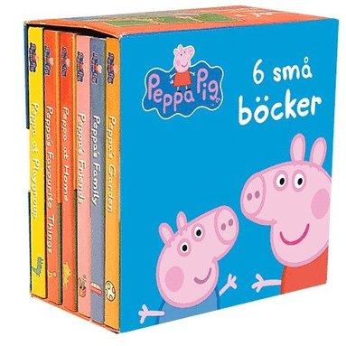 bokomslag 6 små böcker