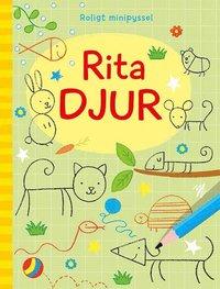 bokomslag Roligt minipyssel: Rita djur