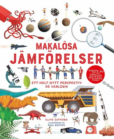 bokomslag Makalösa jämförelser : Ett helt nytt perspektiv på världen