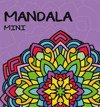 bokomslag Mandala mini (ljuslila)