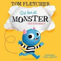 bokomslag Det bor ett monster i den här boken