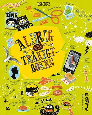 bokomslag Aldrig mer tråkigt-boken