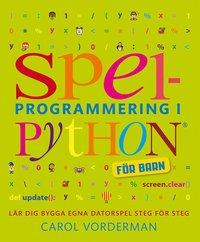 bokomslag Spelprogrammering för barn (Python)