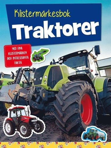 bokomslag Klistermärkesbok: Traktorer