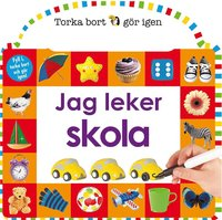 bokomslag Torka bort & gör igen : Jag leker skola