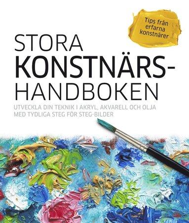 bokomslag Stora konstnärshandboken