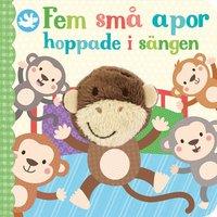 bokomslag Fem små apor hoppade i sängen