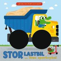 bokomslag Stor lastbil ... liten sparkcykel