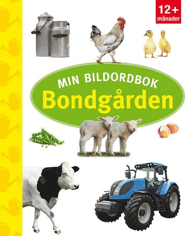 bokomslag Min bildordbok: bondgården